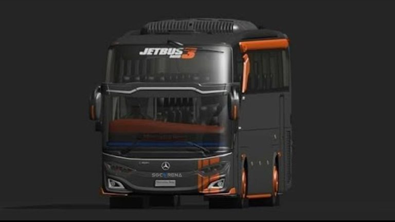 JB3 Mercedes Benz Bus Mod for BUSSID