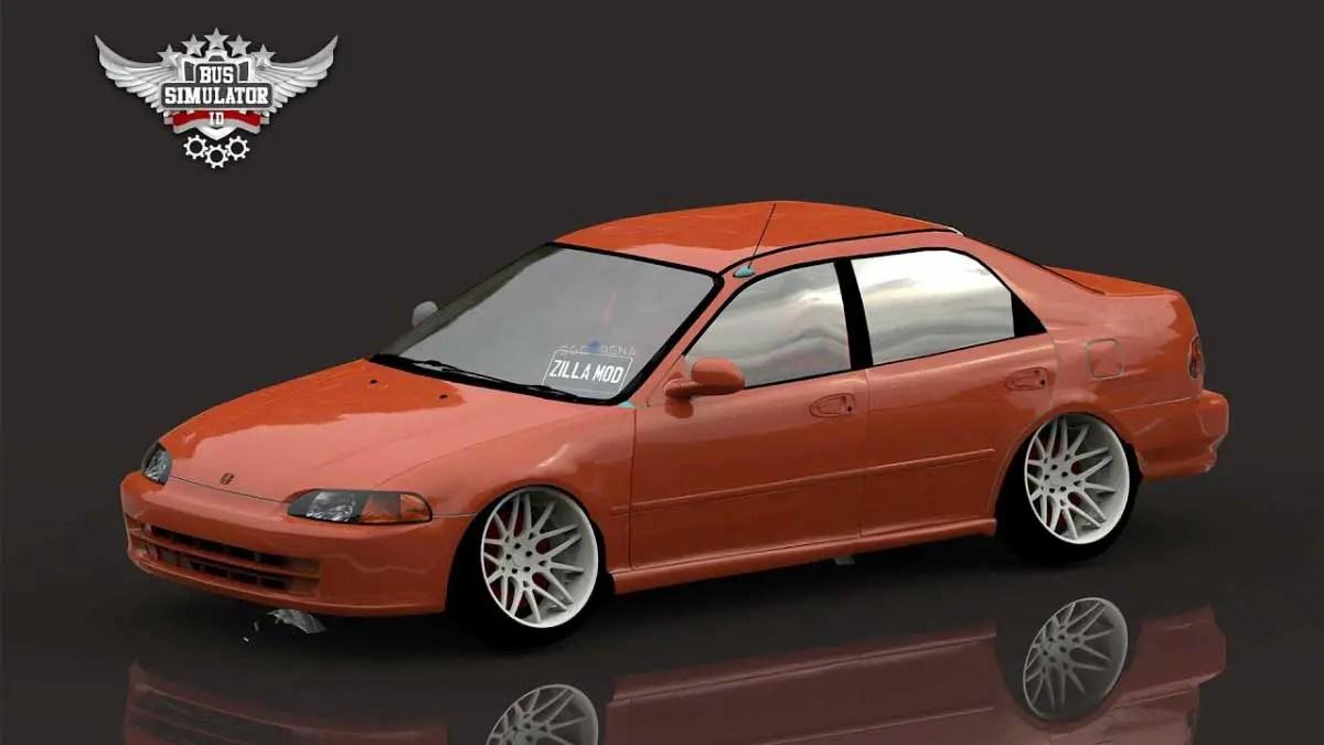 Download Honda Genio JDM Car Mod for BUSSID, Honda Genio JDM Car Mod, BUSSID Car Mod, BUSSID Vehicle Mod, Honda, Zilla