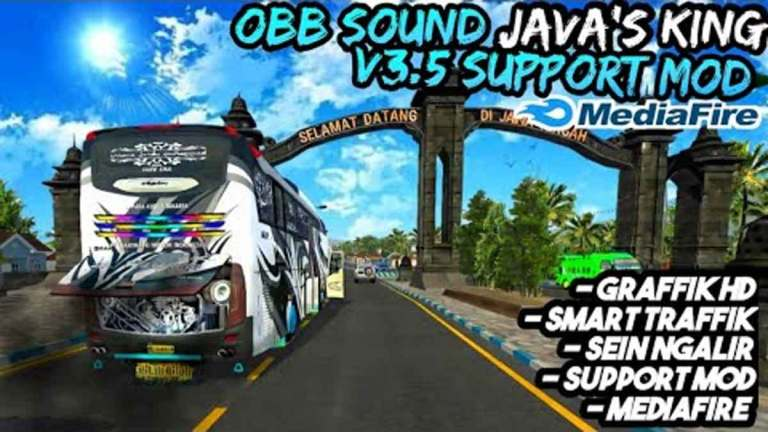 Sound Java's King Obb Mod for BUSSID V3.5