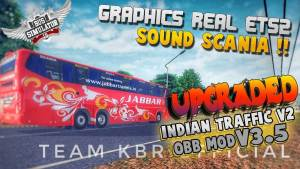 Download BUSSID Indian Traffic Mod for V3.5, BUSSID Indian Traffic Mod, BUSSID OBB Mod, BUSSID Traffic Mod, BUSSID Truck Mod, Team KBR