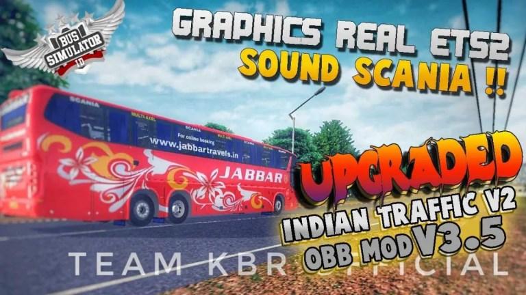 BUSSID Indian Traffic Mod for V3.5