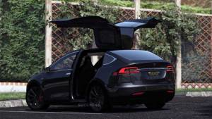 Download Tesla Model X 2016 SUV Car Mod for BUSSID, Tesla Model X 2016 SUV Car Mod, BUSSID Car Mod, BUSSID Vehicle Mod, MAH Channel, SUV, Tesla, TESLA MODEL X Mod