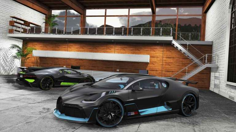 Bugatti Divo 2019 Supercar Mod for BUSSID
