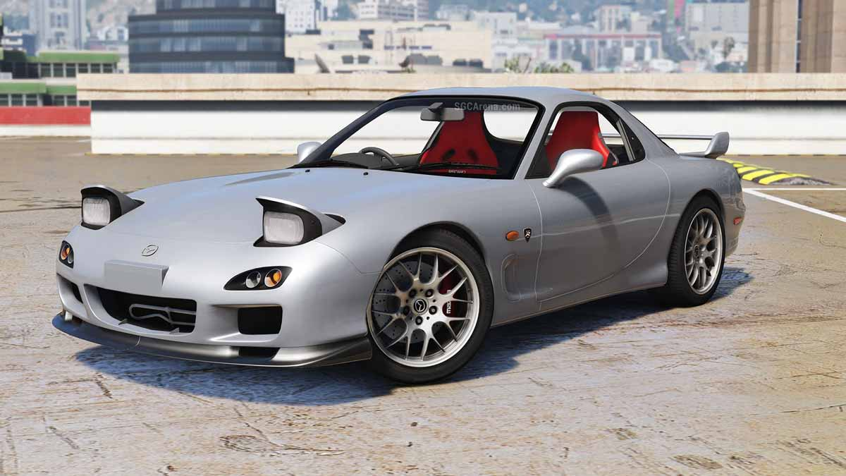 Download Mazda RX7 FD3S Car Mod for BUSSID, , BUSSID Car Mod, BUSSID Vehicle Mod, MAH Channel, Mazda