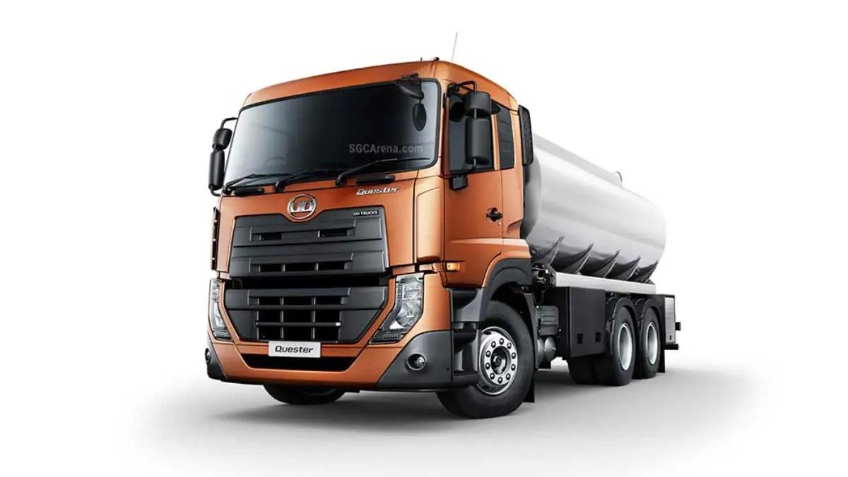 Download UD Trucks Quester Tanker 2013 Truck Mod for BUSSID, UD Trucks Quester Tanker 2013, BUSSID Truck Mod, BUSSID Vehicle Mod, MTSA Team