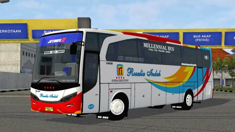 Jetbus 2 Travego Bus Mod for BUSSID