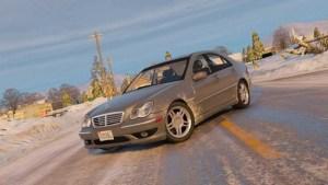 Download Mercedes-Benz C32 Car Mod for Bus Simulator Indonesia, Mercedes-Benz C32, BUSSID Car Mod, BUSSID Vehicle Mod, Mercedes Benz, NanoNano
