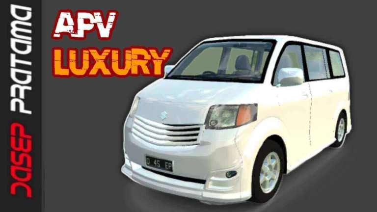Suzuki APV Luxury Terbaru Car Mod for BUSSID