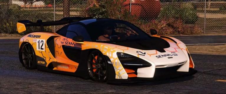 2019 McLaren Senna Supercar Mod for BUSSID