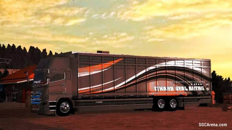 Hino Terbaik Sepanjang Masa Truck Mod for BUSSID