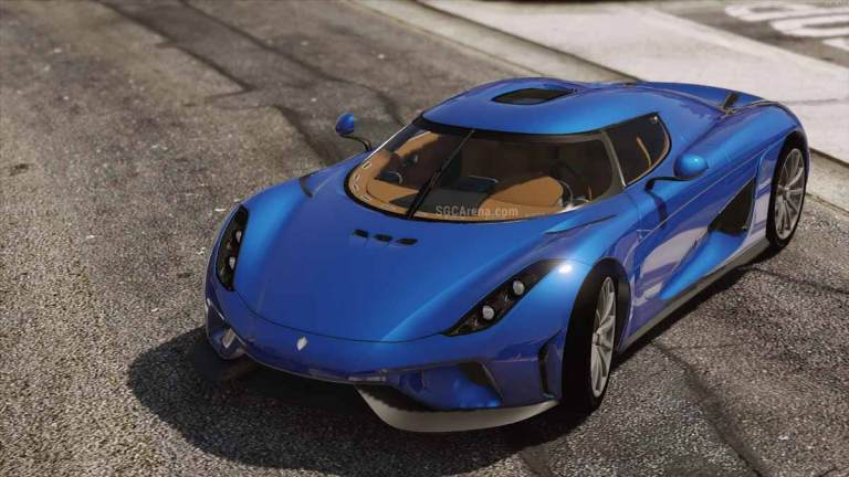 2016 Koenigsegg Regera Luxury Car Mod for BUSSID