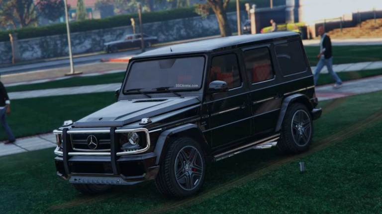 Mercedes-Benz G65 AMG Luxury Car Mod for BUSSID