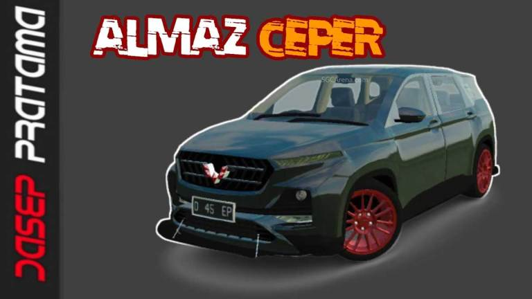 Wuling Almaz Ceper Car Mod for BUSSID