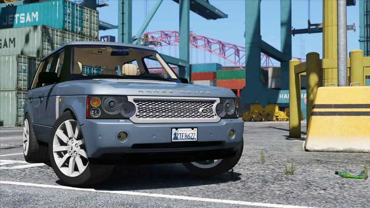 Download Range Rover Supercharged Car Mod BUSSID, Range Rover Supercharged, BUSSID Car Mod, BUSSID Vehicle Mod, NanoNano, Range Rover