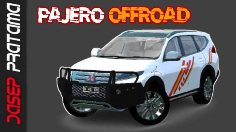 Mitsubishi Pajero Offroad Car Mod for BUSSID