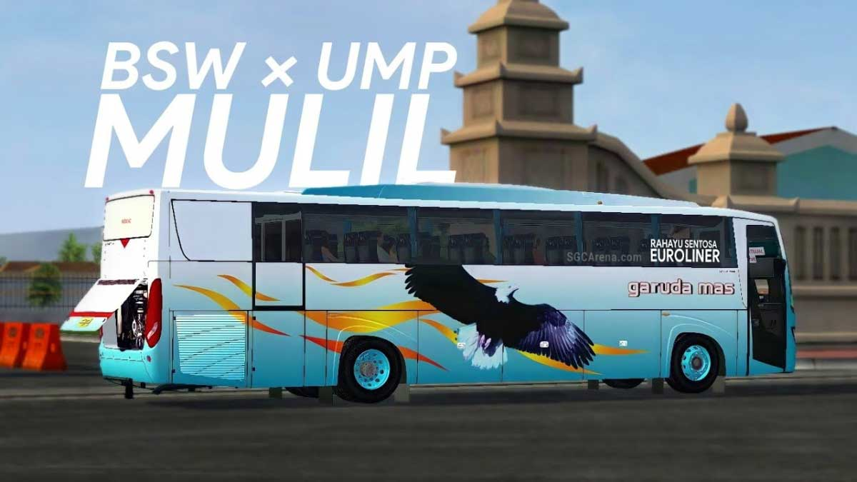 Download Euroliner BSW Bus Mod BUSSID, Euroliner BSW Bus Mod BUSSID, BUSSID Bus Mod, BUSSID Vehicle Mod, EUROLINER BSW, Mulil, UMPmod's