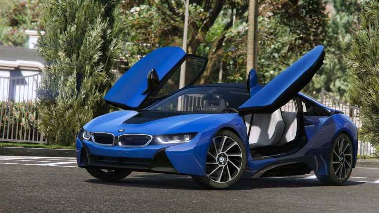 BMW i8 Car Mod BUSSID