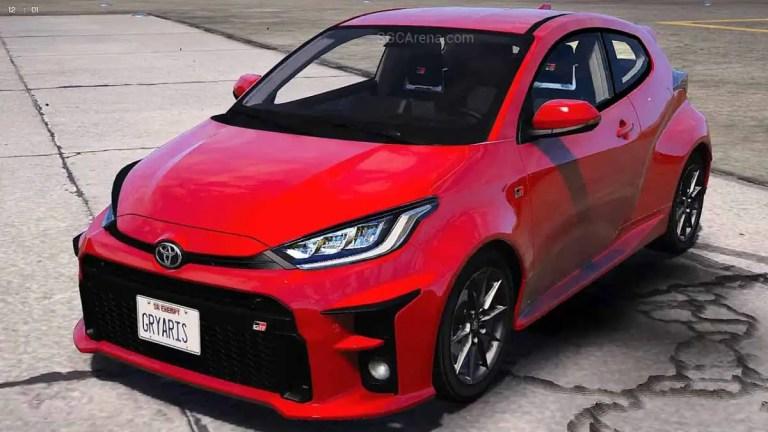 2021 Toyota GR Yaris Car Mod BUSSID