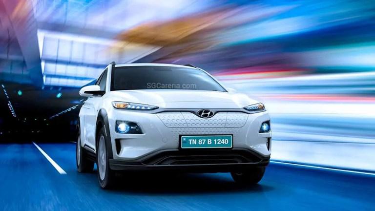 Hyundai Kona Offroad Electric Car Mod BUSSID