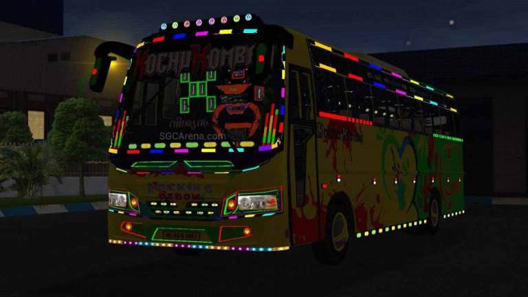 Prakash Grand BMR Indian Bus Mod BUSSID