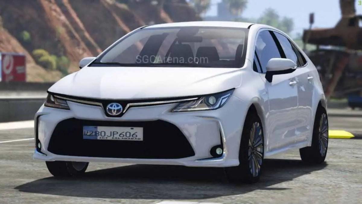 Download 2020 Toyota Corolla Hybrid Car Mod for BUSSID, 2020 Toyota Corolla Hybrid Car Mod, BUSSID Car Mod, BUSSID Vehicle Mod, MAH Channel, Toyota