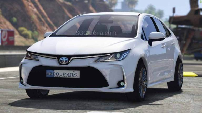 2020 Toyota Corolla Hybrid Car Mod for BUSSID
