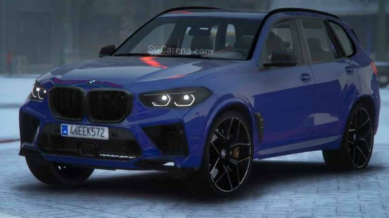 BMW X5M Competition 2020 SUV Mod BUSSID