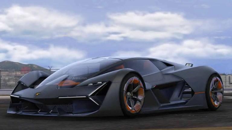 Lamborghini Terzo Millenio SuperCar Mod for BUSSID