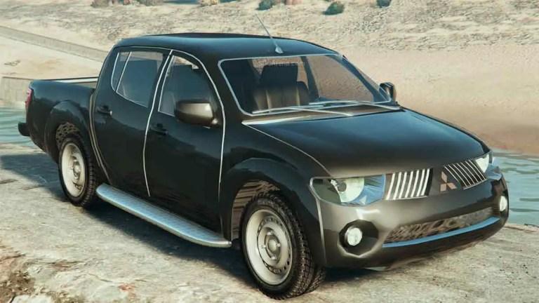 2014 Mitsubishi L200 Triton for BUSSID