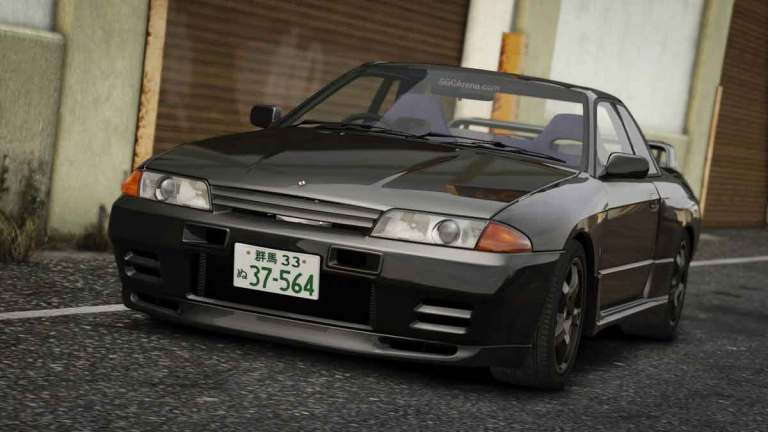 Nissan Skyline GT-R R32 Car Mod for BUSSID