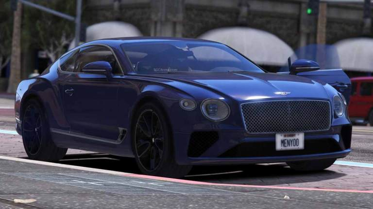 Bentley Continental GT Car Mod BUSSID