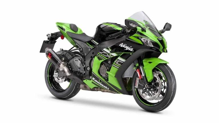 Kawasaki Ninja ZX-10R Motorcycle Mod BUSSID