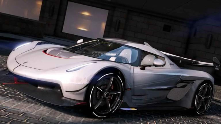 2020 Koenigsegg Jesko Super Car Mod BUSSID