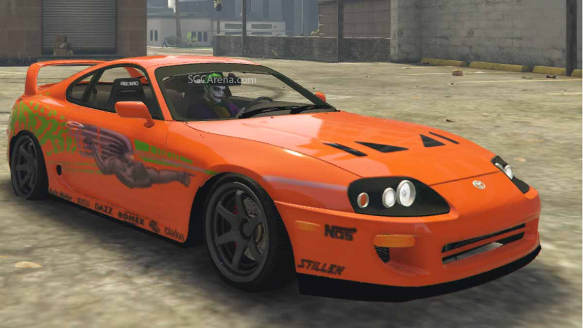 Download Toyota Supra Paul Walker (Fast and Furious) Car Mod BUSSID, Toyota Supra Paul Walker (Fast and Furious), BUSSID Car Mod, BUSSID Vehicle Mod, MAH Channel, Toyota