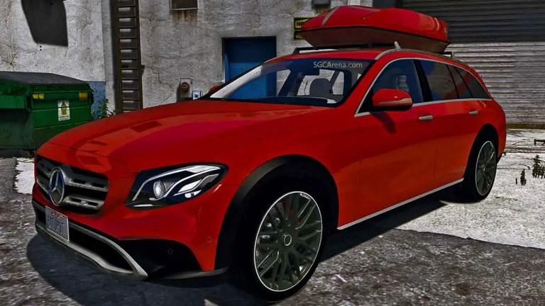 Mercedes-Benz Class E All-Terrain 350d Car Mod BUSSID