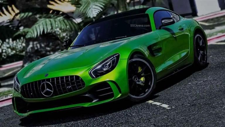 Mercedes-Benz AMG GT-R Car Mod BUSSID