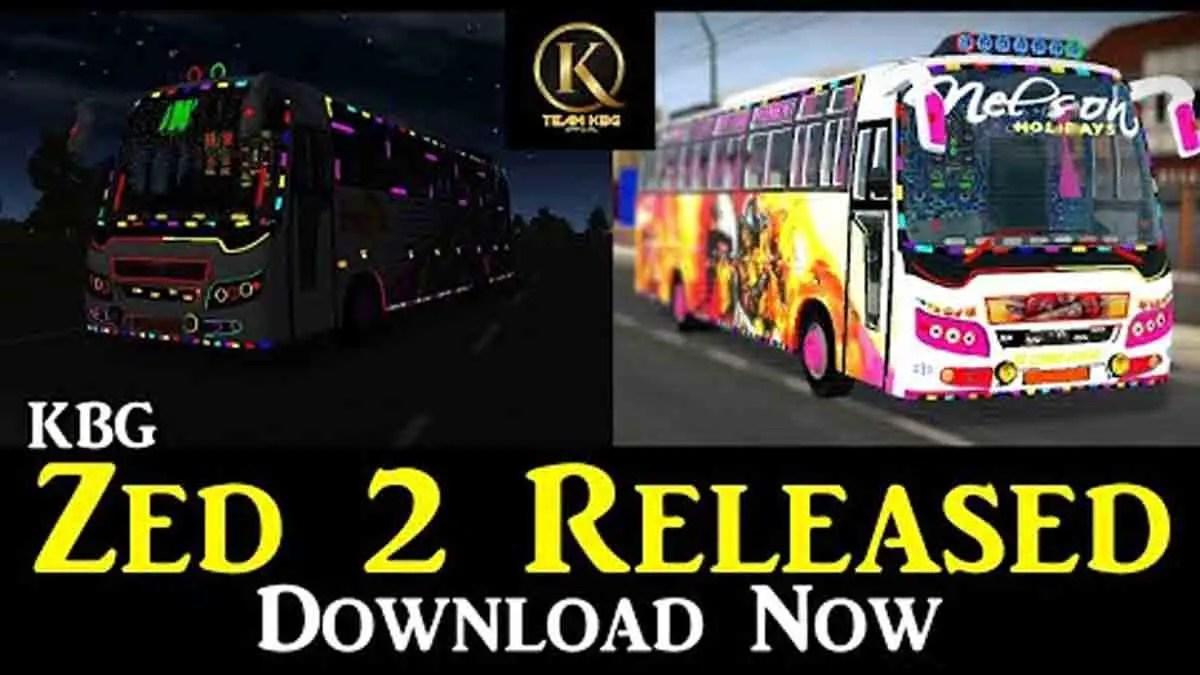 Download Zed 2 Indian Bus Mod BUSSID, Zed 2 Indian Bus Mod, BUSSID Bus Mod, BUSSID Vehicle Mod, Indian Bus Mod BUSSID, Team KBG