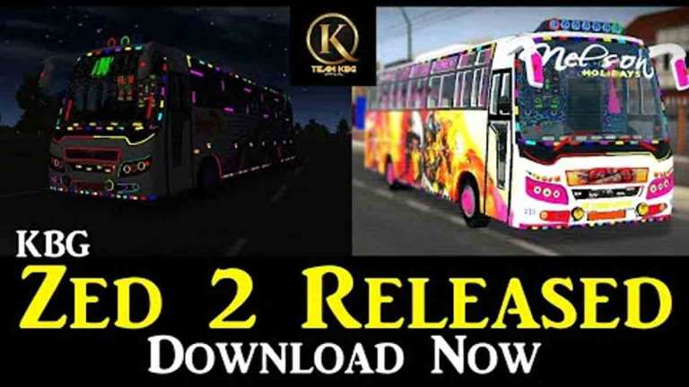 Zed 2 Indian Bus Mod BUSSID
