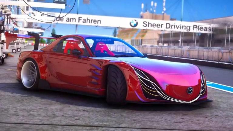 Download Mazda RX-F7 Sport Car Mod BUSSID, Mazda RX-F7 Sport Car Mod, BUSSID Car Mod, BUSSID Vehicle Mod, MAH Channel, Mazda, Super Car Mod