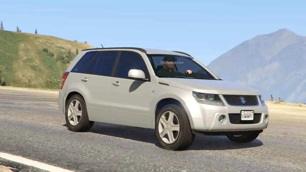 Download Suzuki Grand Vitara Car Mod BUSSID, Suzuki Grand Vitara Car Mod, BUSSID Car Mod, BUSSID Vehicle Mod, MAH Channel, Suzuki