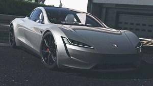 Download Tesla Roadster Car Mod for Bus Simulator Indonesia, Tesla Roadster, BUSSID Car Mod, BUSSID Vehicle Mod, MAH Channel, Tesla