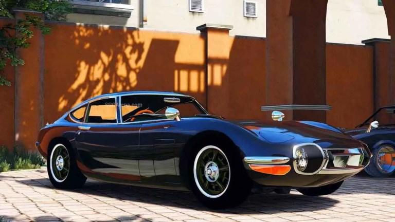 1969 Toyota 2000 GT Car Mod BUSSID