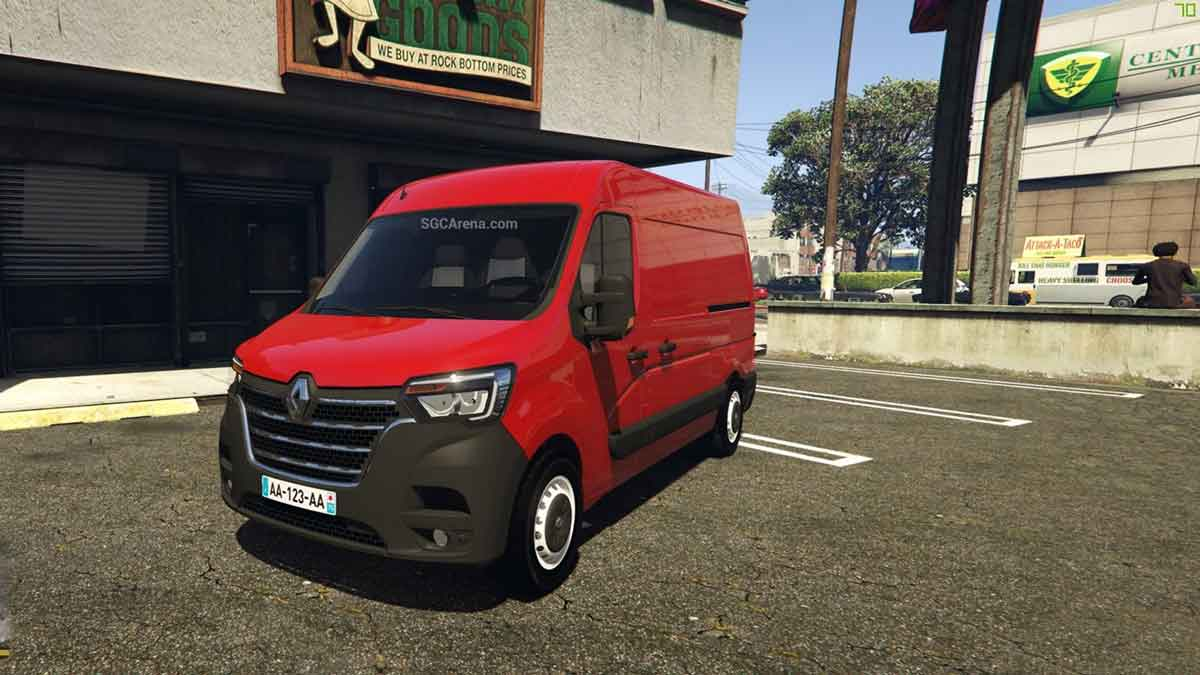 Download Renault Master Van Mod BUSSID, Renault Master Van, BUSSID Van Mod, BUSSID Vehicle Mod, MAH Channel, Renault