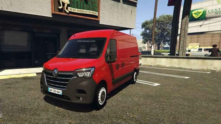Renault Master Van Mod BUSSID