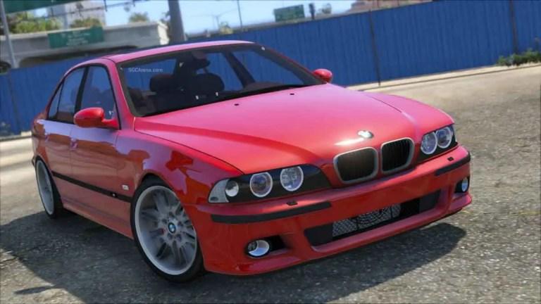 BMW M5 E39 Car Mod BUSSID