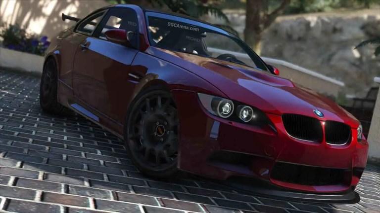 BMW E92 M3 GTS Car Mod BUSSID
