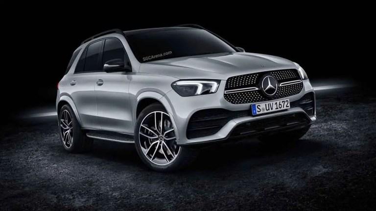 Mercedes-Benz GLE 450 4MATIC SUV Mod BUSSID