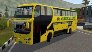 Download Green Line Irizar Sleeper Coach Mod BUSSID, Green Line Irizar Sleeper Coach, BD Bus Mod, BUSSID Bus Mod, BUSSID Vehicle Mod, Irizer PB, ModFlix BD