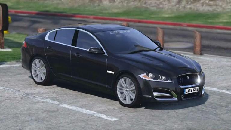 Jaguar XF Car Mod BUSSID