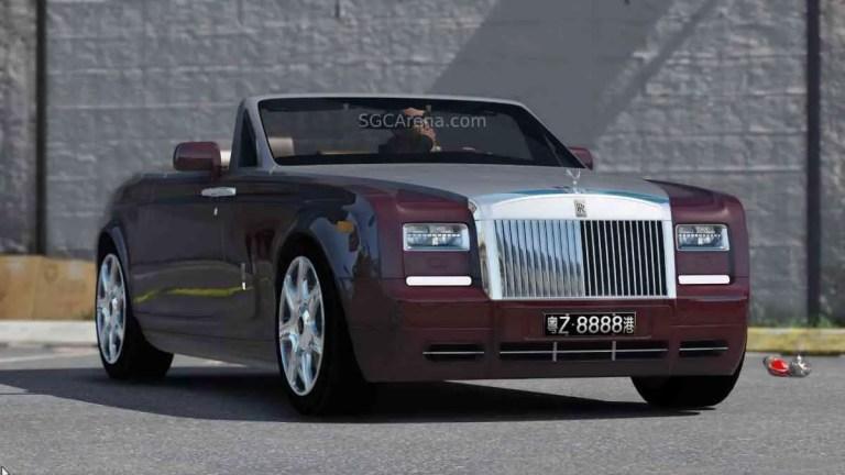 2014 Rolls Royce Phantom Coupe Car Mod BUSSID